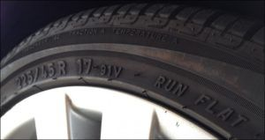 gomme runflat