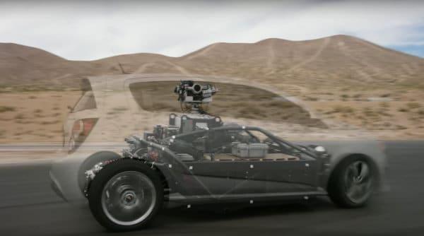 auto elettrica blackbird