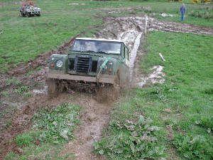 guida su fango