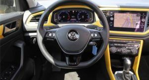 T-Roc virtual cockpit