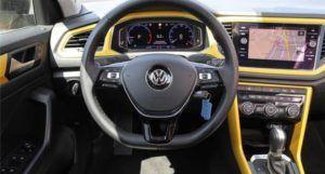 T-Roc virtual cockpit