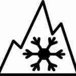 3 peaks mountain snowflake - 3PMSF